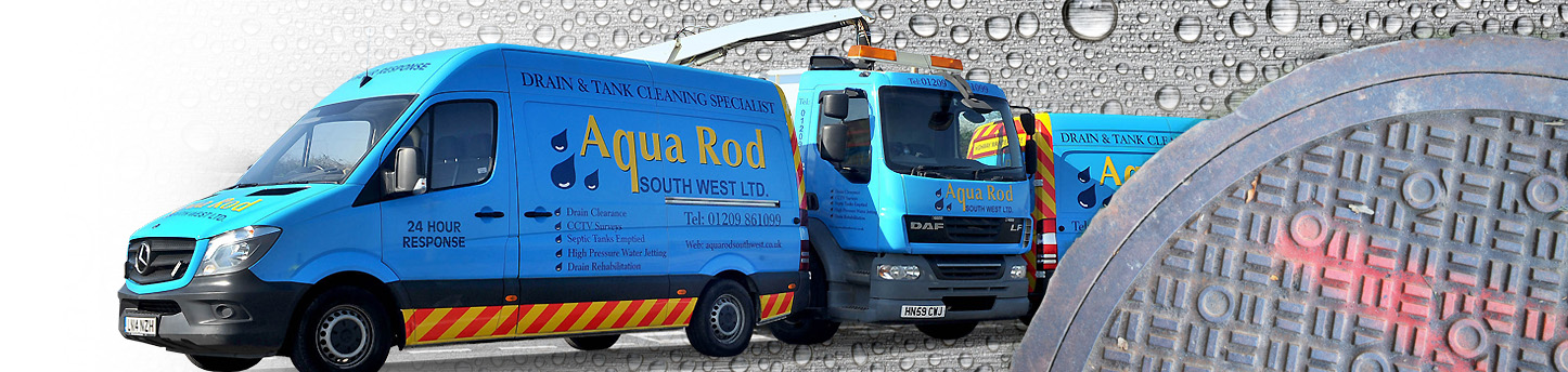 About Aquarod Southwest - drainage specialists