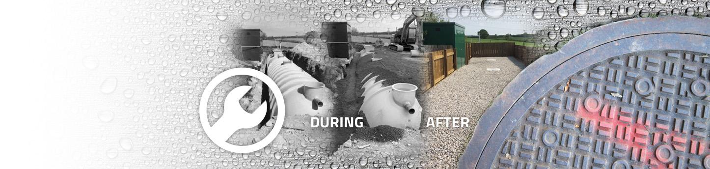 Use Aqua Rod South West for drainage installation, repair & maintenance