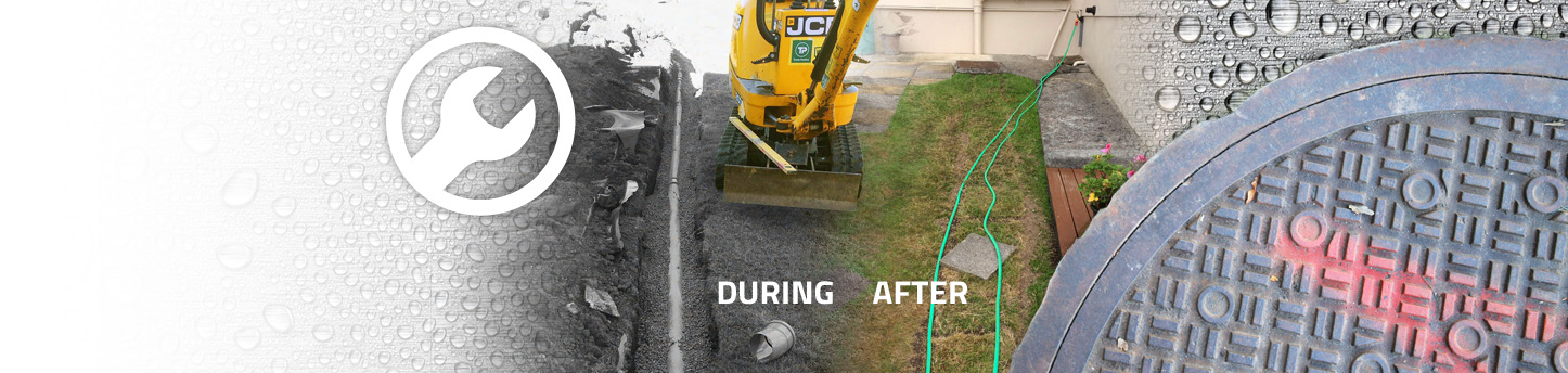 Aqua Rod Southwest domestic repair service, septic tank installation