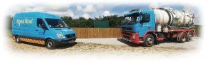 Aqua Rod drainage vehicles